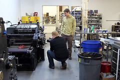 Luke Walker Photography visits Bella Figura's letterpress shop | by bella figura letterpress