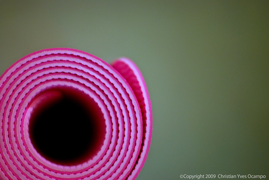 The Pink Panther S Yoga Mat Another Quick Shot With The