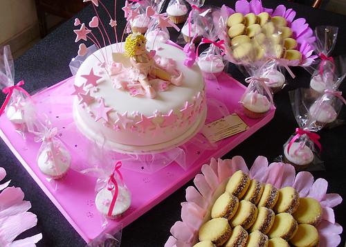 Torta de hada y mesa dulce infantil flickr photo sharing - Mesa dulce infantil ...