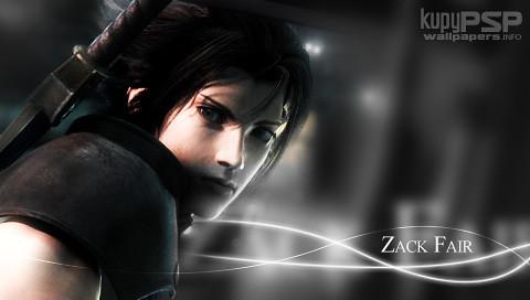 Zack fair final fantasy 7 psp wallpaper watari yami flickr - Zack fair crisis core wallpaper ...