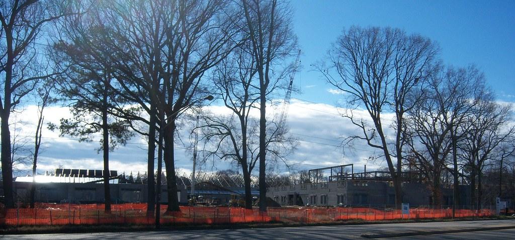 Construction Of Hunter Booker Andrews Pk 8 School In Hampt