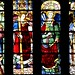 A glass window of the Cathedral of Leon Spain 12th century