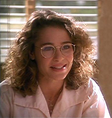 Julie Warner wearing glasses on screen | GwG Fan | Flickr