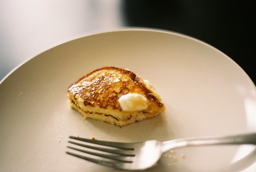 lemon ricotta pancakes | by ornithes