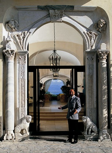 Entrance of the Hotel Caruso | by Hotel Caruso