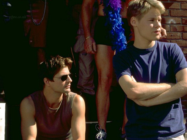 queer as folk gale harold and randy harrison | galerandyQAF | Flickr