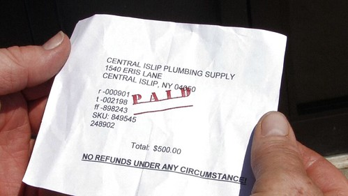 Plumbing Invoice  Dr Family Gets Ripped Off By His Local P  Flickr