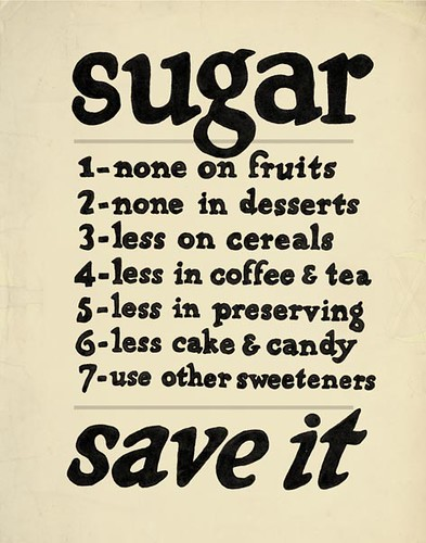 Sugar - Updated Vintage Poster | They say everything old is ... Agricultural Adjustment Act Posters