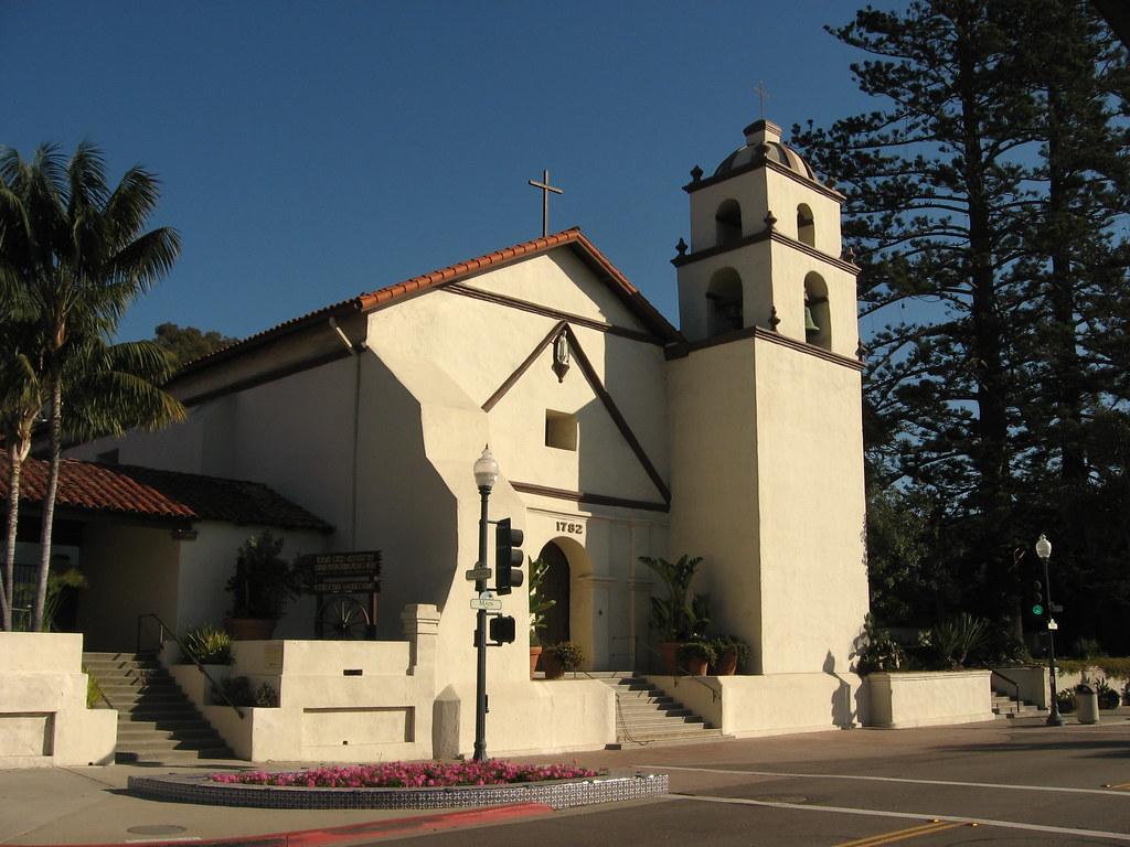 San Buenaventura Spanish Mission Ventura California 12