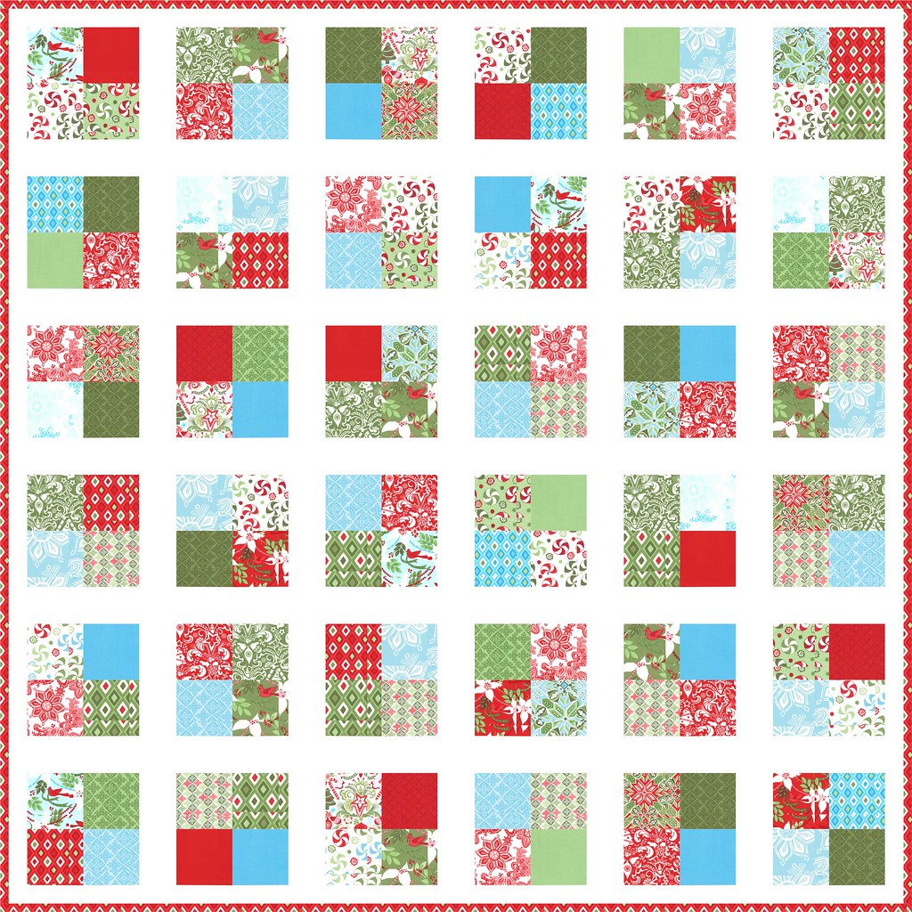 Synchronized Squares Quilt Along This Is What My