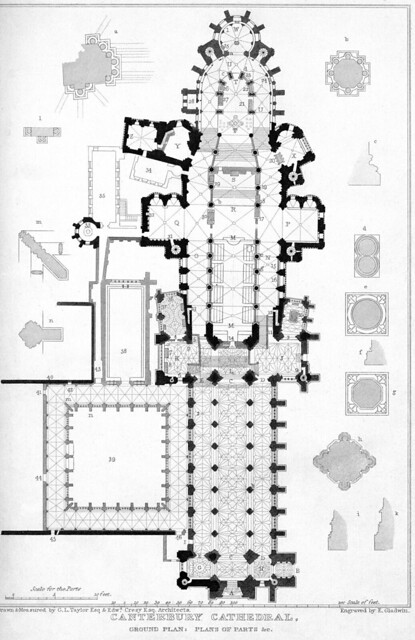 Canterbury Cathedral Plan Images Frompo