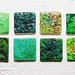 New Business Card Medallions - Majolica Pottery style finish