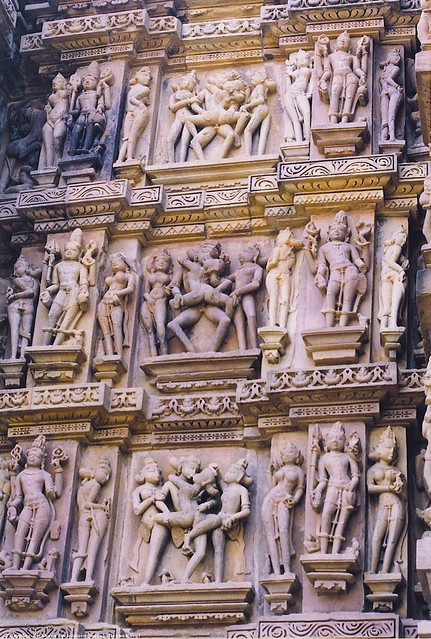 Khajuraho stone carvings flickr photo sharing
