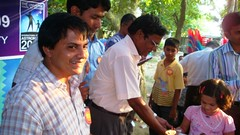 Distribution of Prize to a student