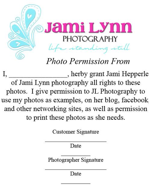 Photo permission form jami hepperle flickr thecheapjerseys Choice Image