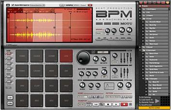 motu bpm virtual drum machine flickr. Black Bedroom Furniture Sets. Home Design Ideas