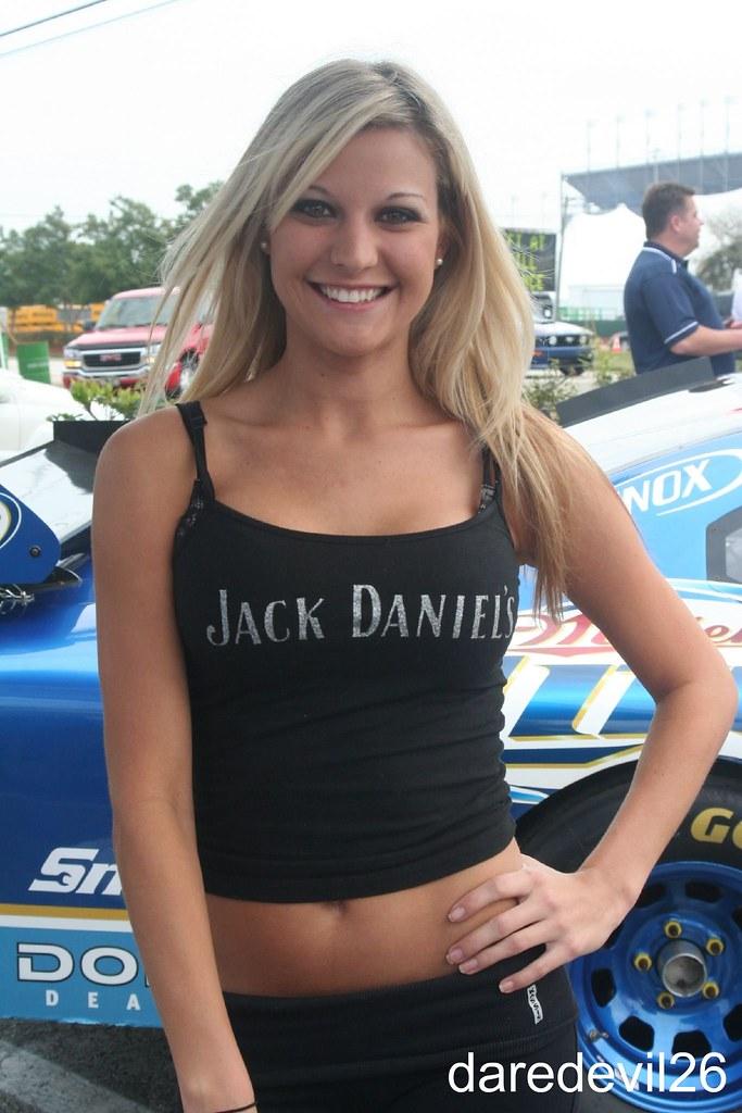 jack daniels girl shot by the daredevil during 2009. Black Bedroom Furniture Sets. Home Design Ideas