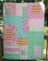 Patchwork Throw Front | by Fresh Lemons : Faith