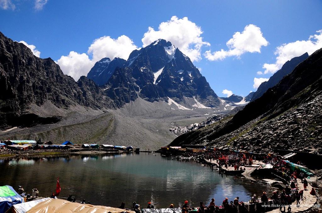 Dal Lake At Manimahesh (Lord Shiva's Abode), Chamba, Himac