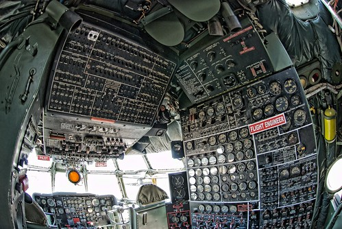 Angle Finder App >> KC-97 Cockpit Thru the Fisheye in HDR | Flickr - Photo Sharing!