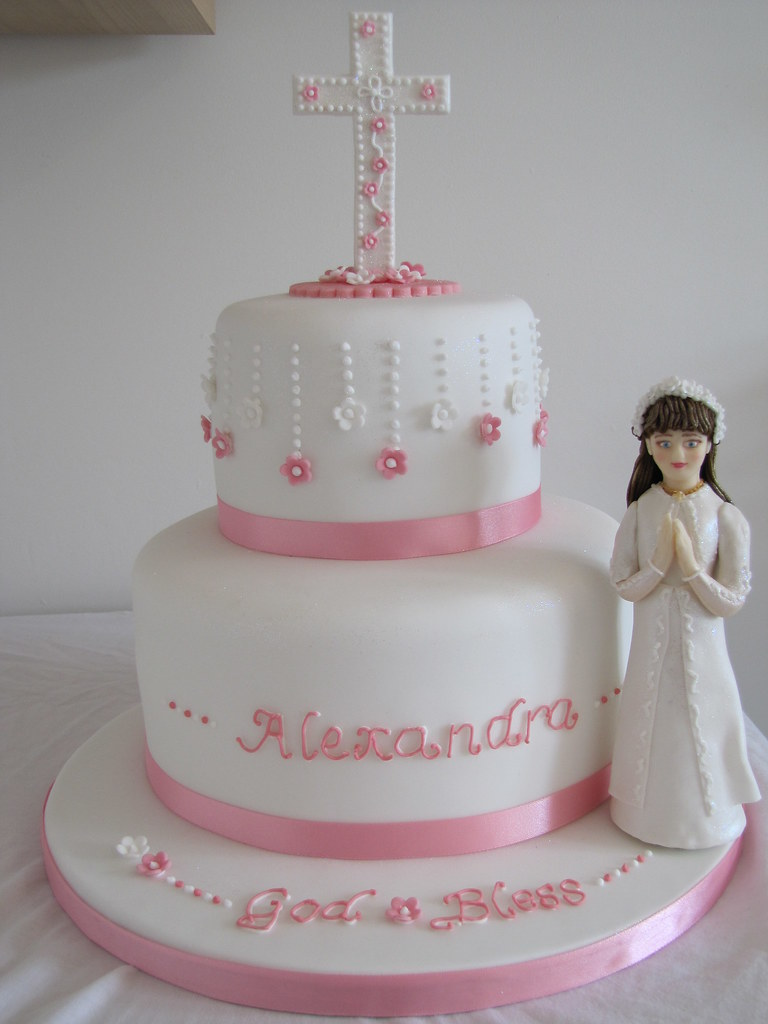 First Holy Communion Cake for a Girl 8