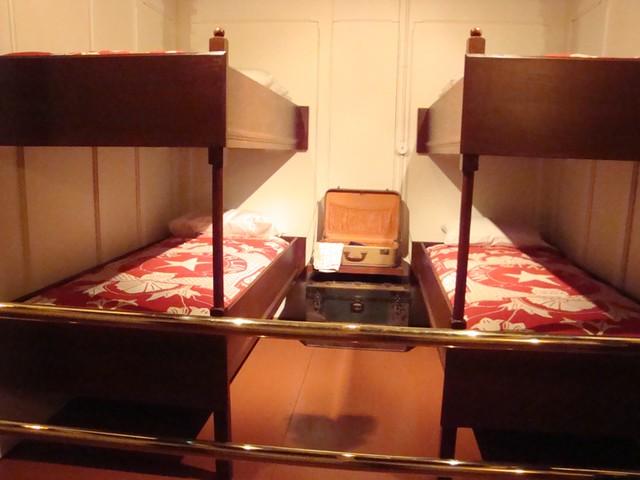 Third Class Cabin From The Titanic Faithful