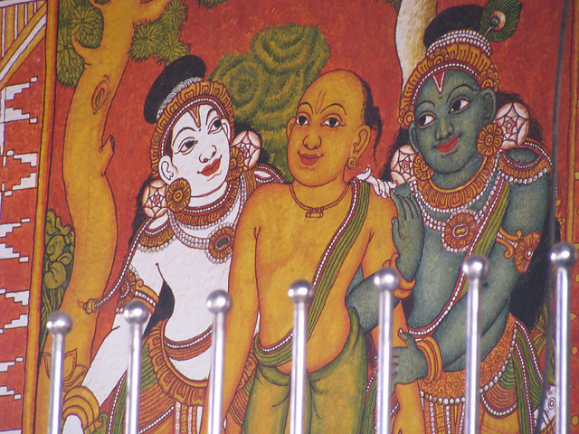 Guruvayur temple mural painting my eyes and lens flickr for Asha mural painting guruvayur