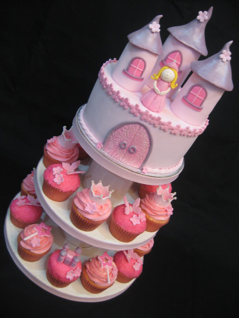 Princess Cupcake Tower Princess Cupcake Tower For A