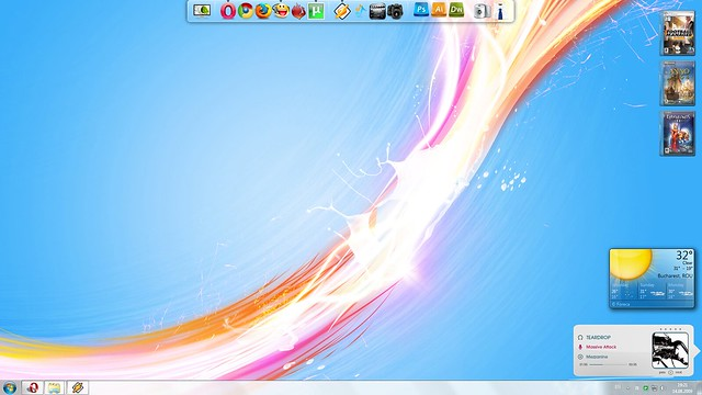 Clean-Cut Desktop (August 14th, 2009) - My new Windows 7 ...