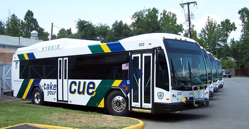 City of Fairfax CUE bus | by BeyondDC