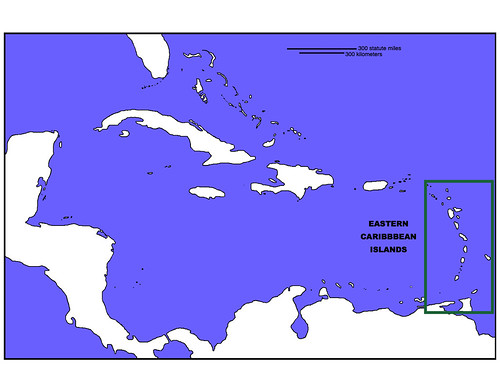 Map of the Caribbean | by UCMP