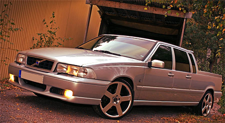 Volvo V70-amino | Doublecab Volvo Pickup action. Needs long … | Flickr