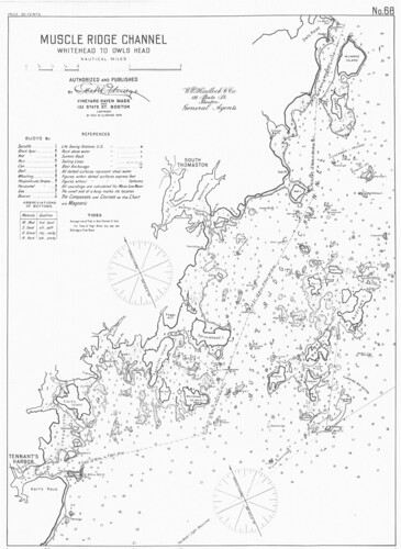 Muscle Ridge Channel [and] Whitehead to Owls Head [Maine] | by uconnlibrariesmagic