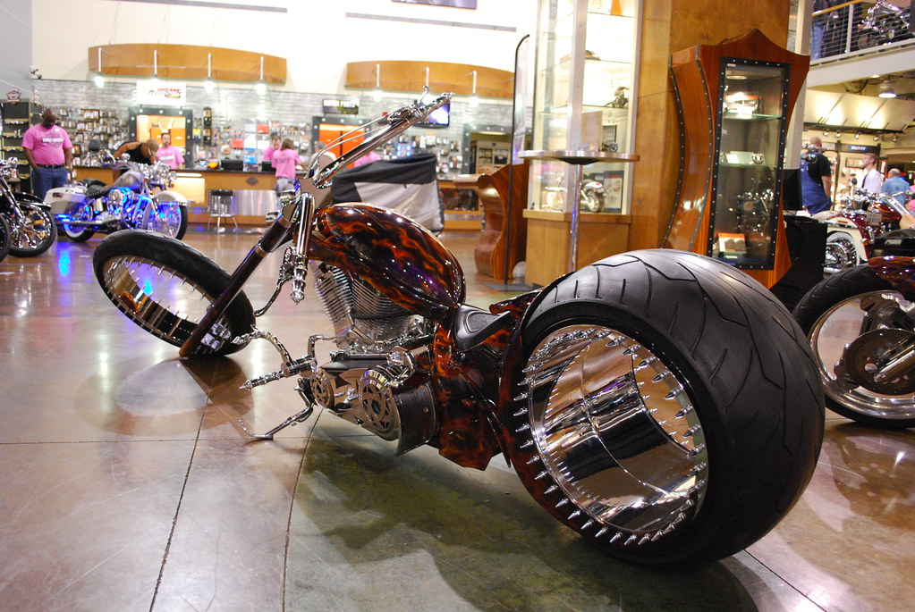 republic harley davidson bike show unusual drive axle flickr. Black Bedroom Furniture Sets. Home Design Ideas