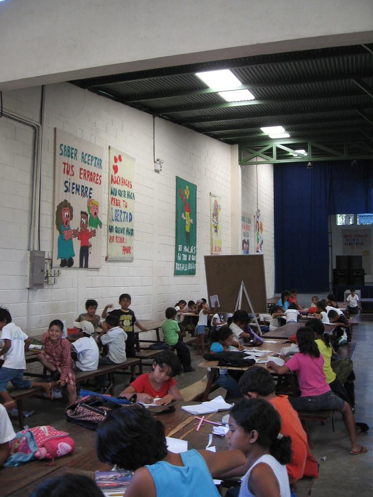 Carita Feliz Nicaragua Students Inside Carita Feliz