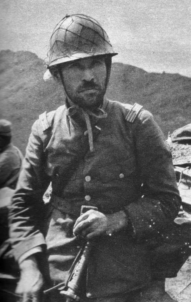 japanese officer japanese army veteran in the hills of