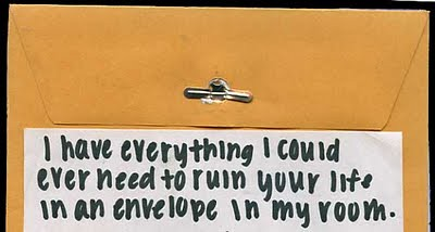 postsecret.blogspot.com - envelope | by Foxtongue