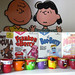 2009 Revised Nook Display w/ Monster Cereal Funny Face Dolly Madison Peanuts