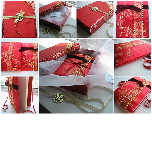 Wedding Guest Book With Gift Wrap Box Created With Fd S