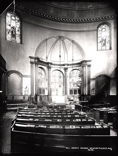 All Saints Church Newcastle upon Tyne c.1900
