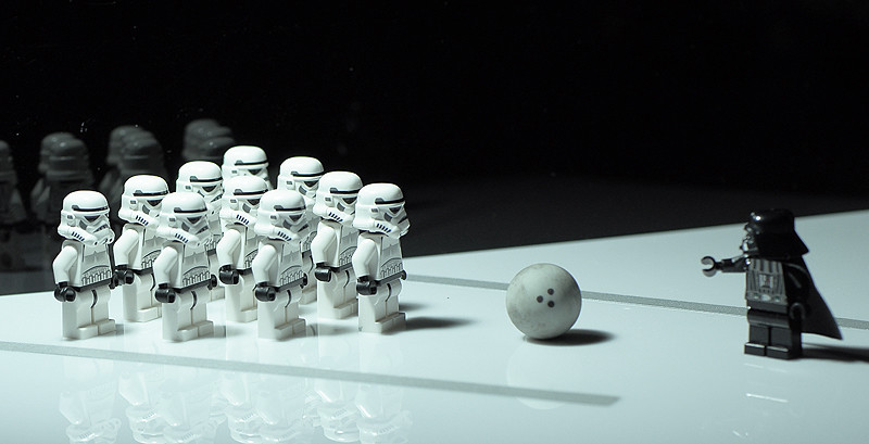 48. Trooper bowling Pin | Lord Vader's leisure sport ...