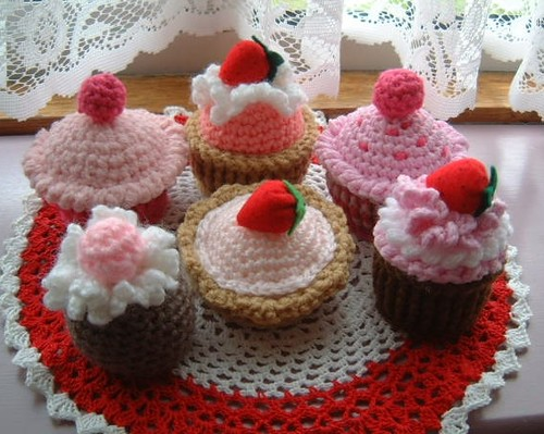 Free Crochet Patterns For Cakes