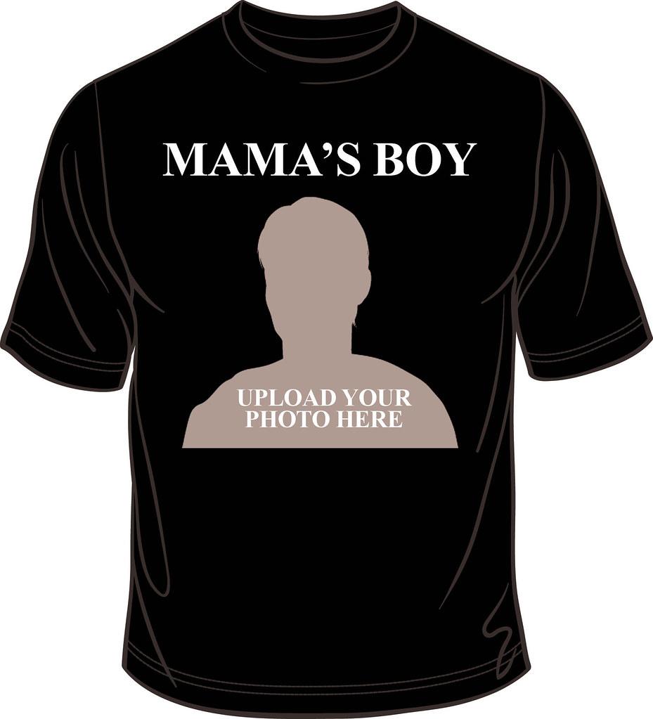 Mama 39 s boy tshirt design custom t shirts online for Custom t shirts online