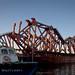 Bay bridge bypass: Falsework for the Bay Bridge