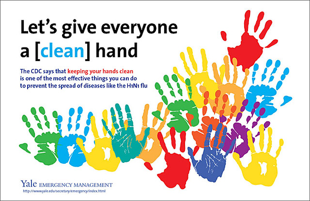 Hand washing poster from Yale | Hand washing poster from ...