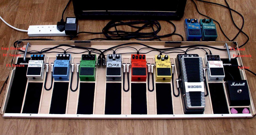 guitar pedal board pedals update l r boss dd 3 digita flickr. Black Bedroom Furniture Sets. Home Design Ideas
