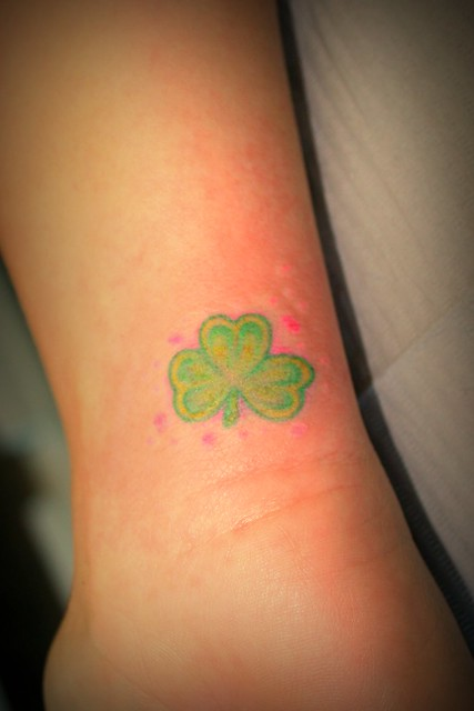 Clover Tattoo Very Small