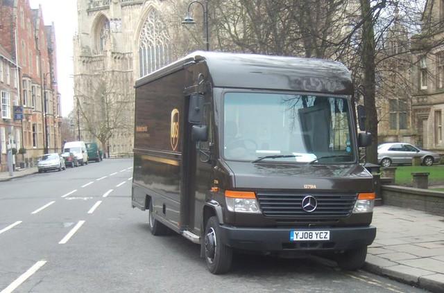 Mercedes Benz Van >> UPS - MERCEDES - VAN | CARL SPENCER | Flickr