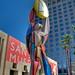 Sculpture ouside the San Jose Museum of Art