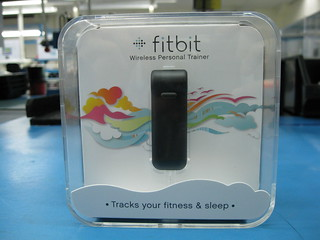Front shot of packaging | by fitbit inc